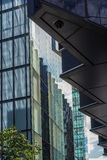 LONDON, UK - AUGUST 22 : Modern architecture in the City of Lond. On on August 22, 2014 Royalty Free Stock Images