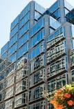 LONDON/UK - AUGUST 15 : Modern Office Block near victoria Statio Royalty Free Stock Photos