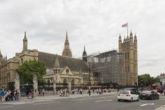 Big Ben restoration works Stock Images
