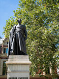 LONDON/UK - AUGUST 15 : Statue of  George Canning in London on A Stock Image