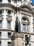 LONDON/UK - AUGUST 15 : Statue of Spencer Compton in Whitehall L Stock Photo