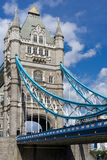 LONDON, UK - AUGUST 22 : Tower Bridge in London on August 22, 20. 14. Unidentified people Stock Photo