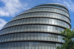 LONDON, UK - AUGUST 22 : View of City Hall in London on August 2. 2, 2014 Royalty Free Stock Photo