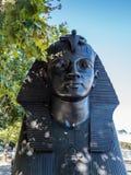 LONDON/UK - AUGUSTI 15: Sfinxen på invallningen i den London nollan Fotografering för Bildbyråer