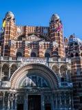 LONDON/UK - AUGUSTI 15: Sikt av den Westminster domkyrkan i London Fotografering för Bildbyråer