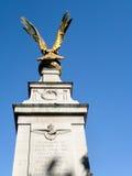LONDON/UK - AUGUSTI 15: Sikt av RAF Memorial i London på Au Arkivbilder