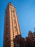 LONDON/UK - 15 AUGUSTUS: Mening van de Toren in Westminster Cathedr stock afbeelding