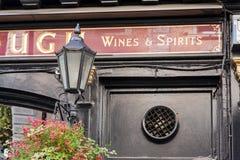 London, UK, Bar Plough Exterior Stock Photography