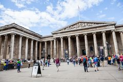 29 07 2015 LONDON, UK, BRITISH MUSEUM Arkivfoto