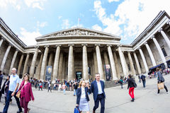 29. 07. 2015, LONDON, UK - British Museum view and details Stock Photography