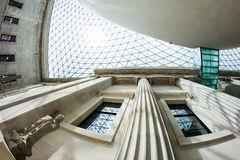 29. 07. 2015, LONDON, UK - British Museum view and details Royalty Free Stock Photography