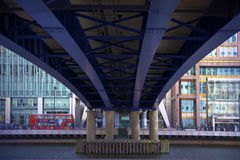 LONDON, UK - CANARY WHARF. MARCH 22, 2014 Stock Images