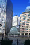 LONDON, UK - CANARY WHARF, MARCH 22, 2014 Royalty Free Stock Image