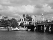Charing Cross in London black and white