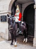 Horse Guards parade in London (hdr). LONDON, UK - CIRCA JUNE 2017: Guard at Horse Guards parade ground (high dynamic range Stock Photos