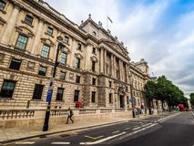 HMRC in London, hdr. LONDON, UK - CIRCA JUNE 2017: HMRC Her Majesty Revenue and Customs building, high dynamic range Stock Photo