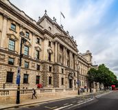 HMRC in London (hdr). LONDON, UK - CIRCA JUNE 2017: HMRC Her Majesty Revenue and Customs building (high dynamic range Royalty Free Stock Photo