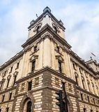 HMRC in London (hdr). LONDON, UK - CIRCA JUNE 2017: HMRC Her Majesty Revenue and Customs building (high dynamic range Royalty Free Stock Images