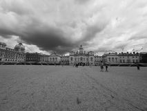 Horse Guards parade in London black and white Royalty Free Stock Photos