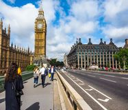 Houses of Parliament in London, hdr Stock Photos