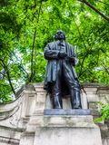 Brunel statue in London (hdr) Stock Photography