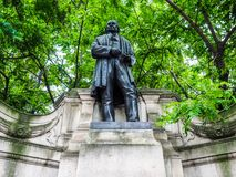 Brunel statue in London (hdr) Stock Photo