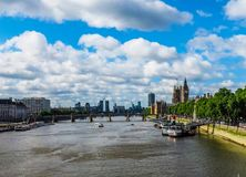 River Thames in London, hdr Stock Images