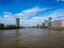 River Thames in London, hdr Stock Photo