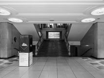 Royal Institute of British Architects in London black and white