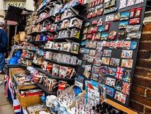 London souvenir memorabilia shop in London, hdr Stock Images
