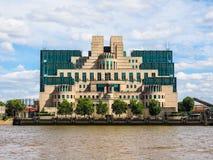 British Secret Service in London,. LONDON, UK - CIRCA JUNE 2017: SIS MI6 headquarters of British Secret Intelligence Service at Vauxhall Cross London, high Stock Photos