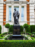 Faraday monument in Savoy Place in London (hdr) Royalty Free Stock Photo