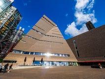 Tate Modern Tavatnik Building in London (hdr) Stock Photo