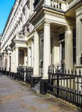 Terraced Houses in London (hdr) Stock Photos
