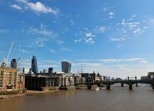 London UK - city landscape Royalty Free Stock Photo