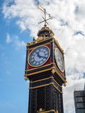 LONDON/UK - 15 DE AGOSTO: Ben pequeno fora de Victoria Train Statio Foto de Stock Royalty Free