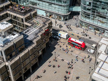 LONDON/UK - 15 DE AGOSTO: Visión desde la catedral de Westminster en Londo Foto de archivo libre de regalías