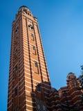 LONDON/UK - 15 DE AGOSTO: Vista da torre em Westminster Cathedr imagem de stock