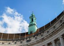 LONDON/UK - 21 DE MARÇO: A torre verde do condado velho Hall Bu Fotos de Stock