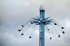 LONDON, UK - DECEMBER 9 : Carousel at Winter Wonderland Hyde Par Royalty Free Stock Photography