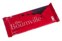 Bournville Chocolate Bar. LONDON, UK - DECEMBER 18TH 2017: A Bournville chocolate bar, manufactured by Cadbury, on 18th December 2017 Stock Images