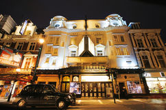 London Theatre, Apollo Theatre Arkivfoto