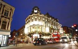 London Theatre, Gielgud Royaltyfri Bild