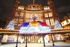 London Theatre, slottTheatre Arkivfoto