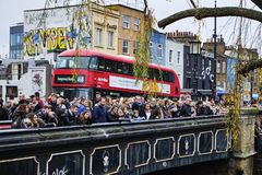 Camden Lock in London, UK royalty free stock image