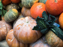 LONDON/UK - 24. FEBRUAR: Gemüse für Verkauf im Stadt-Markt Lizenzfreie Stockfotos