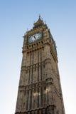 LONDON/UK - FEBRUARI 18: Sikt av Big Ben i London på Februari Royaltyfri Fotografi