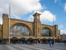 LONDON/UK - FEBRUARY 24 : Kings Cross Station in London on Febru Royalty Free Stock Images