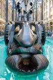 LONDON/UK - FEBRUARY 13 : The Navigators by sculptor David Kemp royalty free stock images