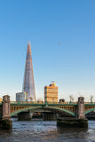 LONDON/UK - FEBRUARY 18 : The Shard in London on February 18, 20 Royalty Free Stock Image
